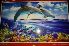 New 500 Piece Jigsaw Puzzle (Dolphin Friends)