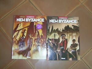 UCHRONIES - NEW BYZANCE  LOT DE 2 BD  CORBEYRAN -BE