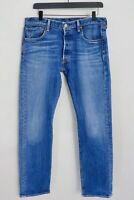 Herren Levi Strauss & Co 505 Jeans Blau Slim Fit W38 L30 JJB349
