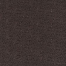 G345 Brown Metallic Raised Floral Vines Upholstery Faux Leather By The Yard