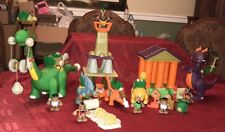 LITTLE TIKES BC BUILDERS HUGE LOT I-FELL TOWER TOWER OF DESTRUCTION DINOSAURS ++