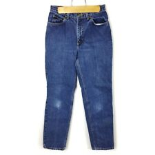 Jones Sport (P2-27) Women's Sz 6 Blue Jeans Straight Leg Medium Wash Distressed