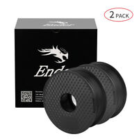 2pcs 1kg 1.75mm PLA Filament For Creality Ender 3 CR-10S Pro 3D Printer Black