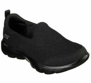 Skechers Womens GO walk Evolution Ultra Reach Goga Mat Walk Slip On Shoes 15730