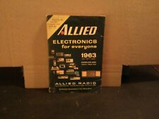 1963 ALLIED ELECTRONICS FOR EVERYONE CATALOG 456 PGS