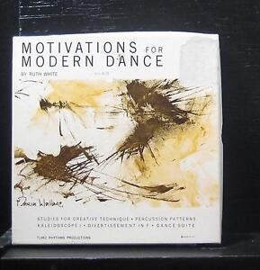 """Ruth White - Motivations For Modern Dance Mint- 7"""" Vinyl 45 1962 610 USA"""