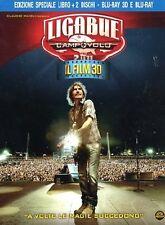 LIGABUE CAMPOVOLO 2.0  BLU-RAY 3D + DVD    MUSICALE