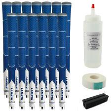 13 Lamkin Z5 Blue Midsize Grip DURABLE & TACKY - Free Grip Kit