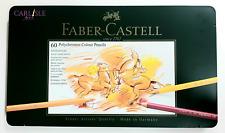 Faber-Castell - Polychromos Coloured Pencils - Tin Of 60