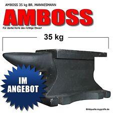 AMBOSS 35 kg, MANNESMANN EIN-HORN AUSFÜHRUNG M710-35