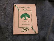 1985 Garden Arbor View School Yearbook California