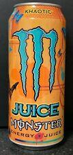 NEW JUICE MONSTER KHAOTIC ENERGY DRINK 16 FL OZ (473mL) 1 FULL CAN BUY IT NOW
