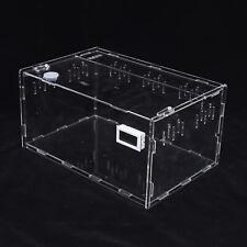 Small Size Single Grid Reptile Cage Breeding Box Lizard Spider Snake Tortoise