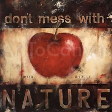 NATURE (27x27) and RESPECT MOTHER EARTH (27x27) SET by WANI PASION 2PC CANVAS