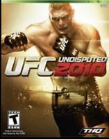 MICROSOFT XBOX 360 (2010) UFC UNDISPUTED 2010 NEW FACTORY SEALED BROCK LESNER