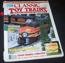 Classic Toy Trains Magazine January 1993 Model Railroader Railroading Lionel