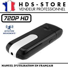 USBCAM1-HD CLÉ USB CAMÉRA ESPION HD 720P JUSQU'À 32 GO MAX DÉTECTION VIDÉO PHOTO