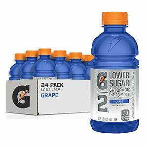 Gatorade G2 Sports Drink Low Calorie Grape 24 Count