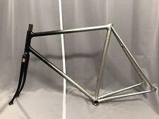 100% NOS Vintage french masterpiece Mecacycle fillet brazed steel frame set SLX