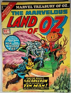 Marvel Treasury Special The Marvelous Land of Oz Giant Comic Book 1975.