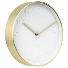 Karlsson Mr. White Wall Clock RRP £50