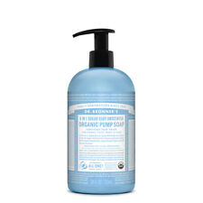 Dr Bronners Organic Pump Soap (Sugar 4-in-1) Baby Unscented 710ml