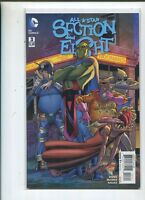 All-Star Section Eight #3 Near Mint  DC Comics     X1