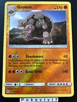 Carte Pokemon GROLEM 35/68 Rare REVERSE Soleil et Lune 11.5 SL11,5 FR NEUF