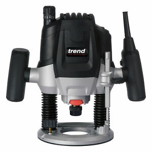 """Trend T7EK - 2100W 1/2"""" Variable Speed Router 240V - Free 8mm Collet included"""