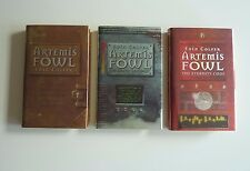 Eoin Colfer - Artemis Fowl (1-3 books) 1st/1st UK editions - Signed