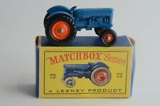 Matchbox Lesney No 72 Fordson Tractor - Made In England - Boxed - (B16)