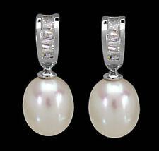 Ohrstecker Sw-perlen & Zirkonia 925 Silber