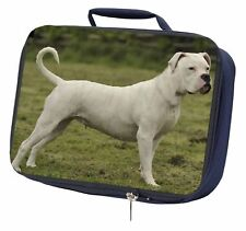 American Staffordshire Bull Terrier Dog Navy Insulated School Lunch , AD-SBT9LBN