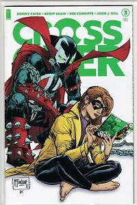 Image Comics Crossover #3 Todd McFarlane Spawn Infinity Secret Green Variant