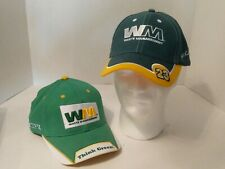 2 WASTE MANAGEMENT Auto Racing NASCAR Hats! #23 Bill Lester #14 Sterling Marlin