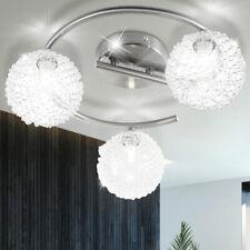Design Decken Leuchte Gäste Schlaf Zimmer Kugel ALU Lampe Rondell Beleuchtung