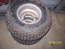 OEM FACTORY 04-06 Arctic Cat 50 50cc 2x4 Y6 Rear Wheels Rims with Tires