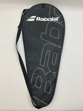 Babolat Tennis Racquet Cover with Adjustable Strap - Black / White