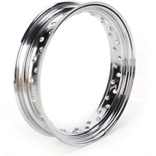 "Cerchio rim cromato 40 raggi Harley Davidson 16x4 ruota 5.00/5.10 x 16"""