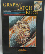 Mcg Textiles Graph N' Latch Rug Pattern Mystic Lion #37506