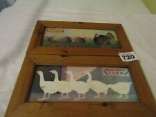 Turkey Creek Farm & Duck Green Framed Pictures