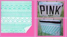Victoria's Secret Pink MINT AZTEC DUVET COVER BED DORM REVERSIBLE TWIN XL
