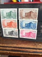 Stamps Reunion 150 years French Revolution set of 6 1939 MH