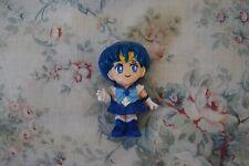 vintage 90s Bandai Sailor Mercury small super deformed doll - TKTTB