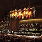Wine Bottle Chandelier Beer Bottle Pendant Style Light Lighting Wine Decor Lamp
