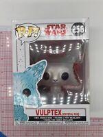 Funko Pop Star Wars Vulptex Crystal Fox # 256 BOX WEAR L01