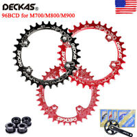 DECKAS 96BCD-S MTB Round/Oval Narrow Wide Chainring 32/34/36/38T Bike Chainwheel