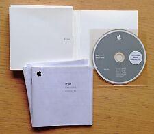 Apple iPod - Original Box Software CD/Print User Manual (2004) RARE