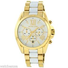 Michael Kors Women's Chronograph Bradshaw Gold-tone Stainless Steel Watch MK5743