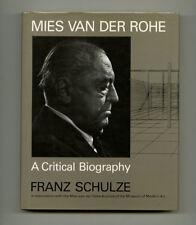 1985 Franz Schulze MIES VAN DER ROHE: A Critical Biography BAUHAUS Design Hc-Dj
